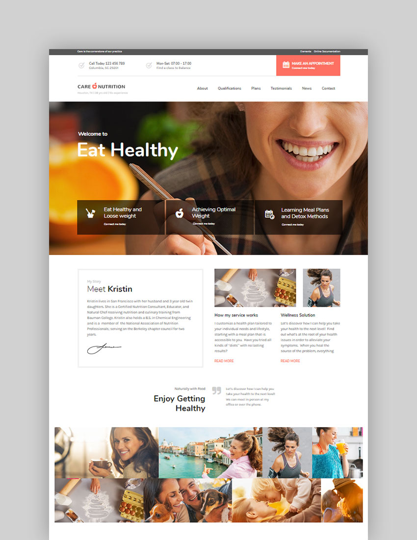 Care  Multi-Niche WordPress Theme for Small Business