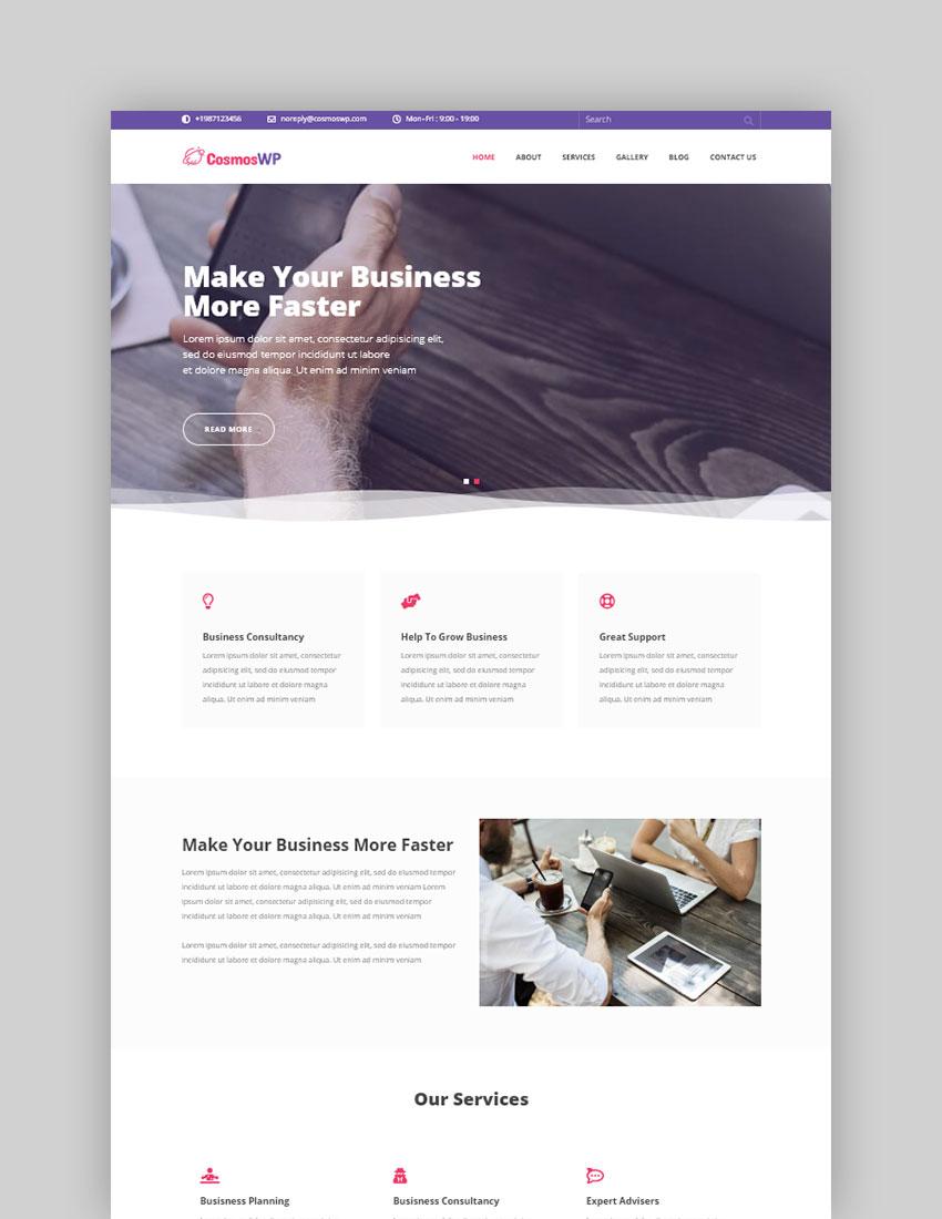 CosmosWP Free WordPress Theme