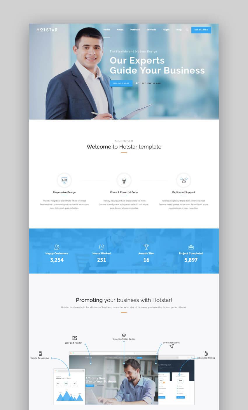 Hotstar - Versatile WordPress Small Business Theme