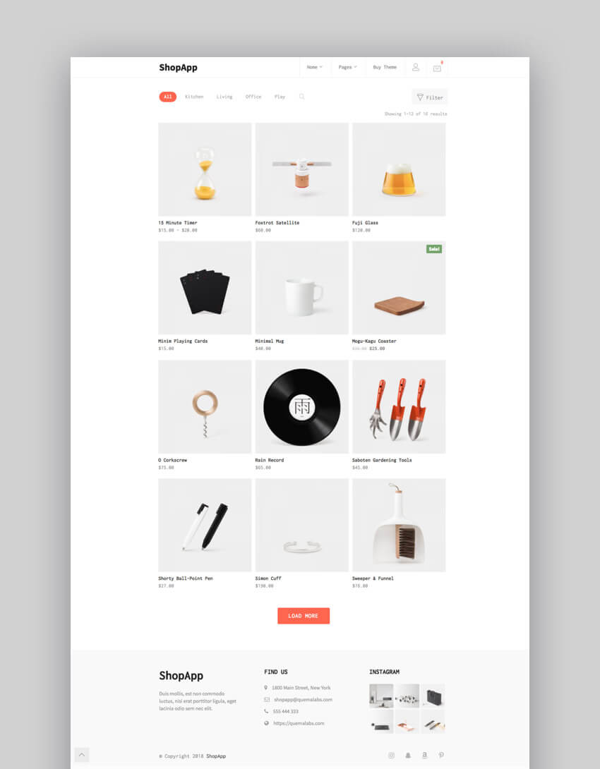 ShopApp - E-Commerce Theme for Small Business WordPress Sites