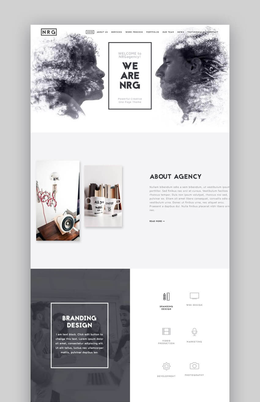 The Agency - Easy to Use Small Business WordPress Theme