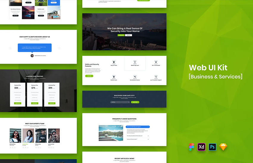 Web UI Kit Business Services