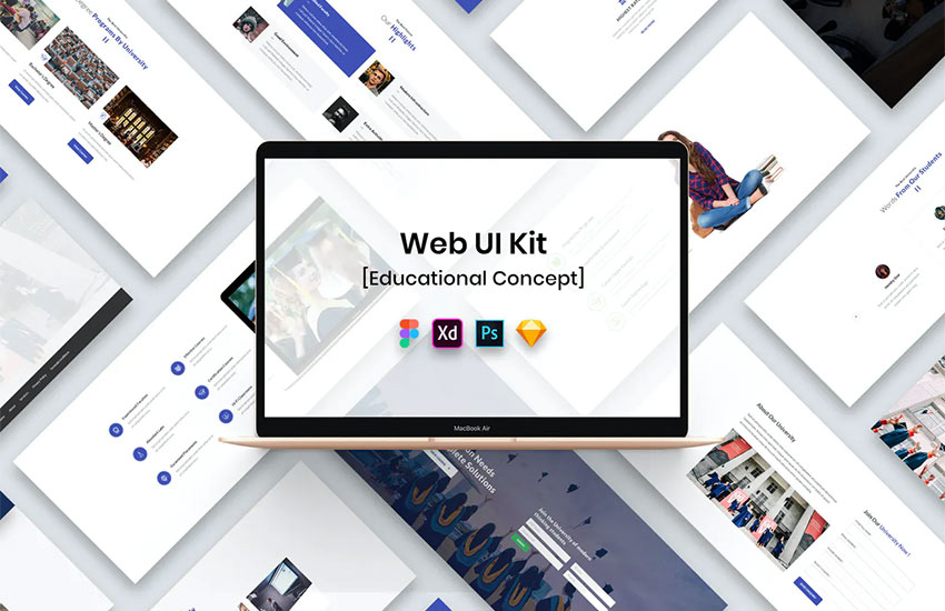 Educational Web UI Kit