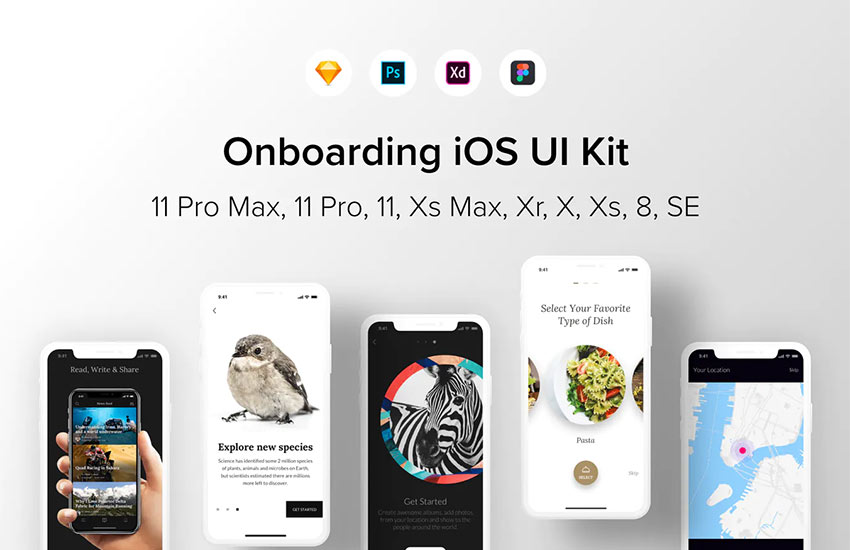 Onboarding iOS UI Kit
