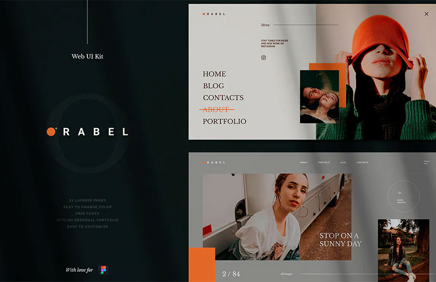 Orabel Web UI Kit