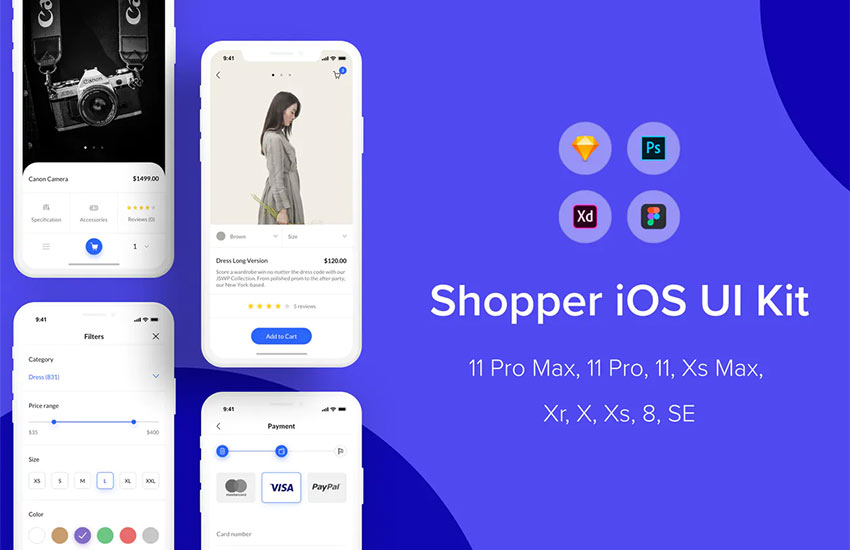 Shopper iOS UI Kit