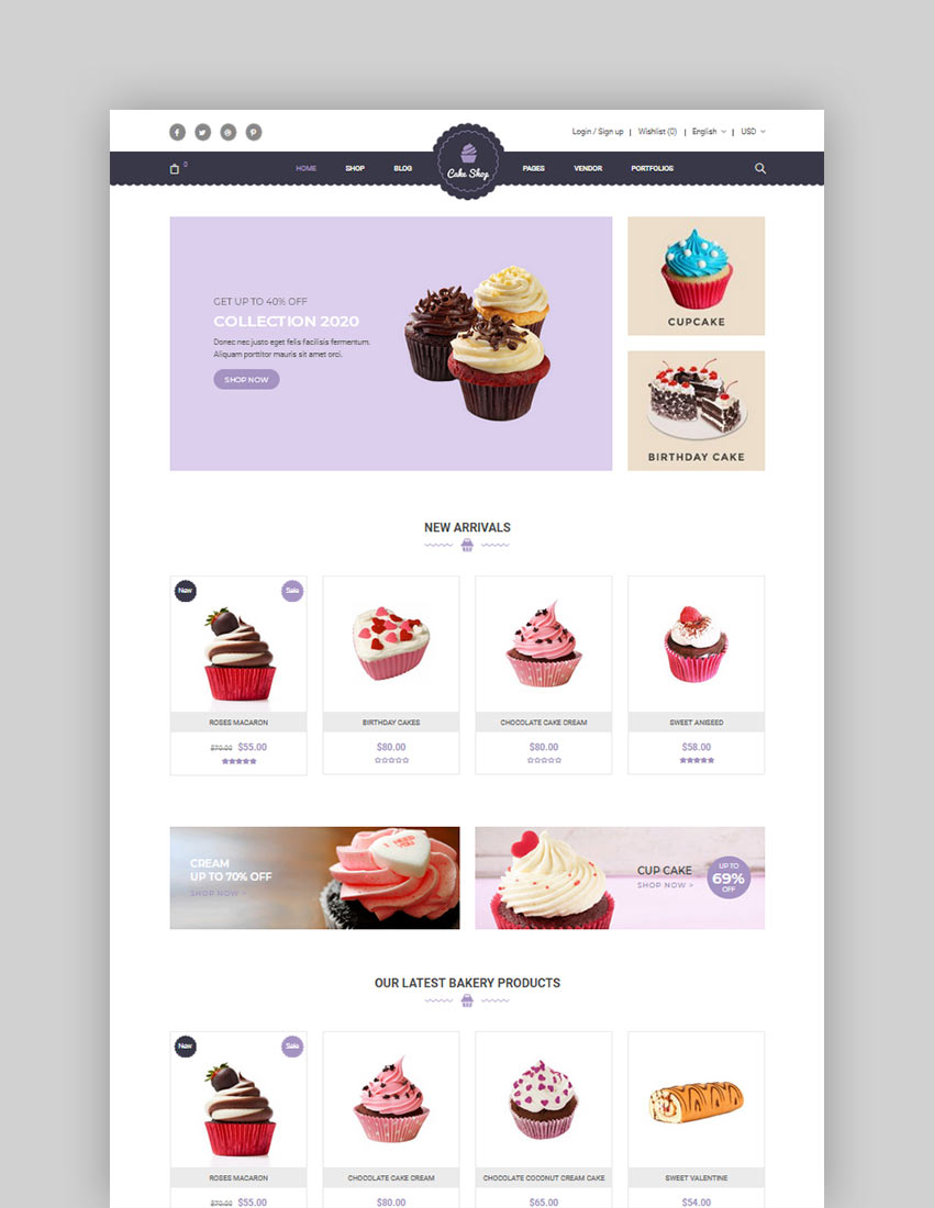 Food Store Organic Restaurant WooCommerce WordPress Theme