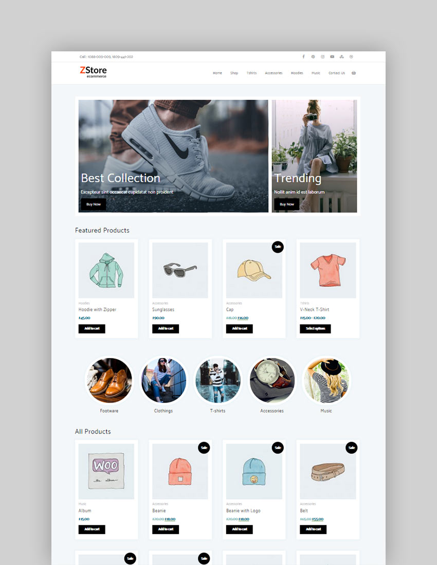 Zita Storefront Free WordPress Child Theme