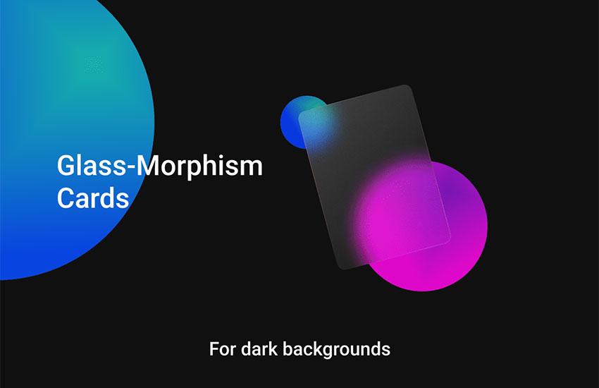 Glass-Morphism UI Kit