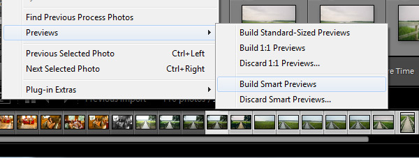 Build Smart Previews