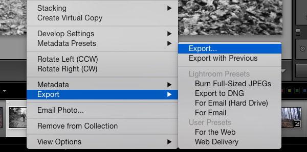 Export  export