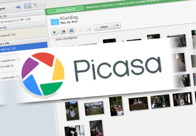 Picasa preview image