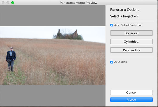 Panorama Merge Preview