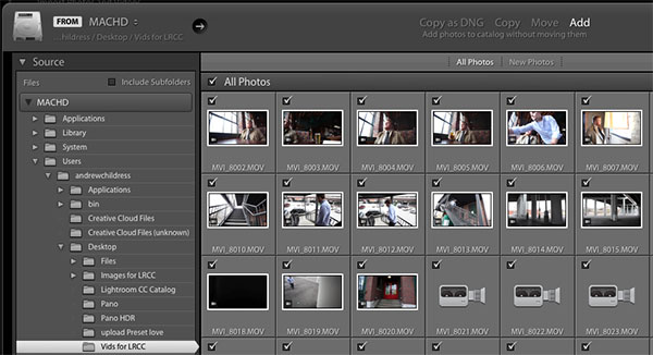 How to Review, Edit, and Export Video with Adobe Lightroom