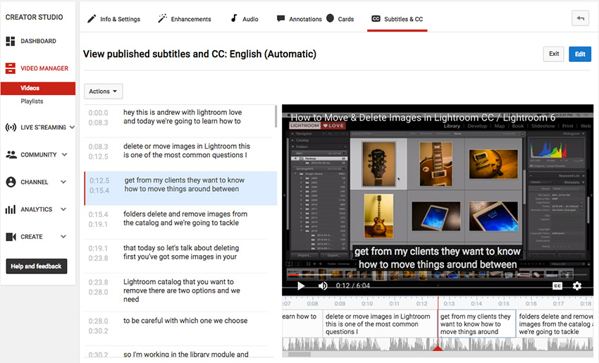 3 Ways to Subtitle and Caption Your Videos Automatically