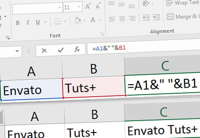 How to Concatenate in Excel to Combine Text Strings