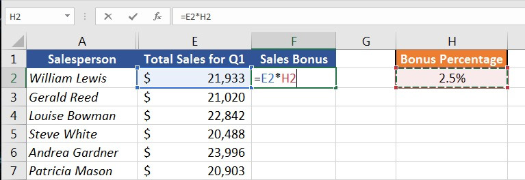 How to Manage Your Excel Formulas: Copy, Paste and Autofill