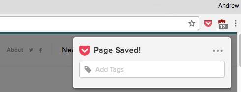 Page Saved - Pocket