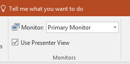 Presenter View in PowerPoint