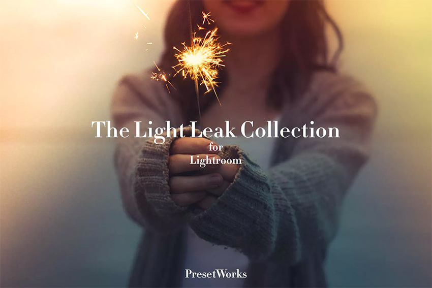How to Make a Light Leak Lightroom Preset