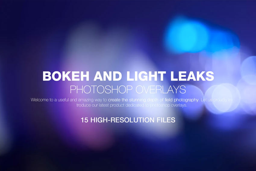 15 Free Photoshop Light Leak Actions and Overlays