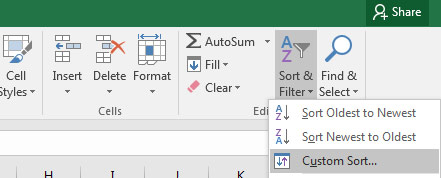 How to Sort Data in Excel Spreadsheets (The Right Way)