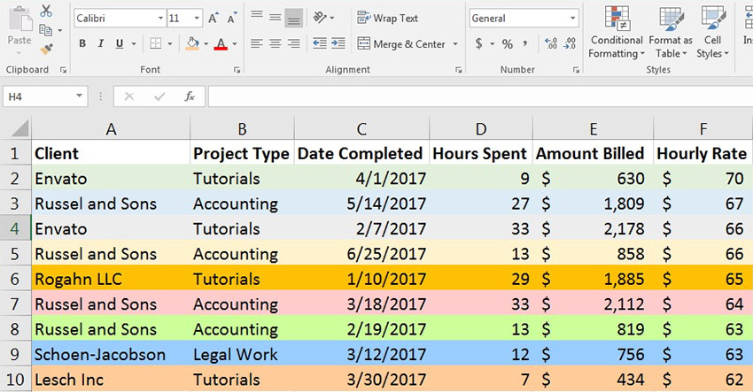 How to sort data in excel spreadsheets the right way ive color coded the rows in this example so that we can make sure our data is sorted correctly the colors should run all the way across each row without ibookread PDF