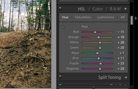 How to Build a Film Style Look in Adobe Lightroom