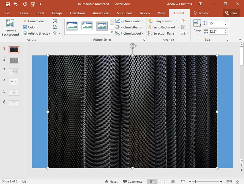 How to Edit Slide Background Graphics Using PowerPoint