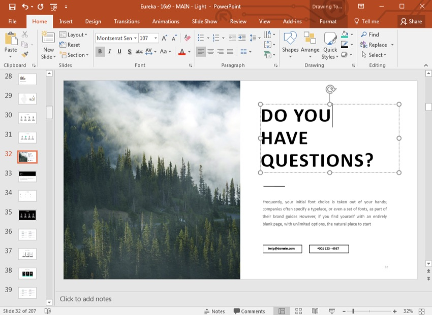 "How to Make an ""Any Questions"" Final PowerPoint Slide (PPT)"