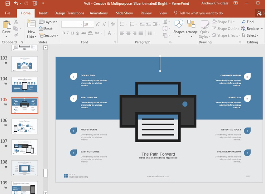 How to Use PowerPoint Templates to Design Presentations