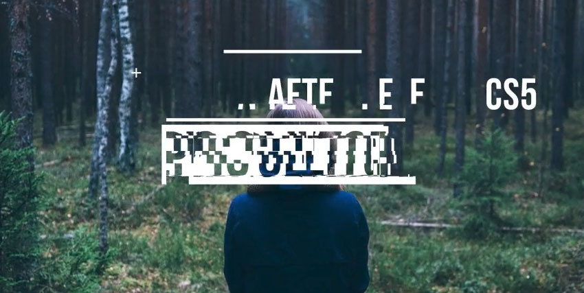 15 Top Glitch Video Templates for Adobe After Effects