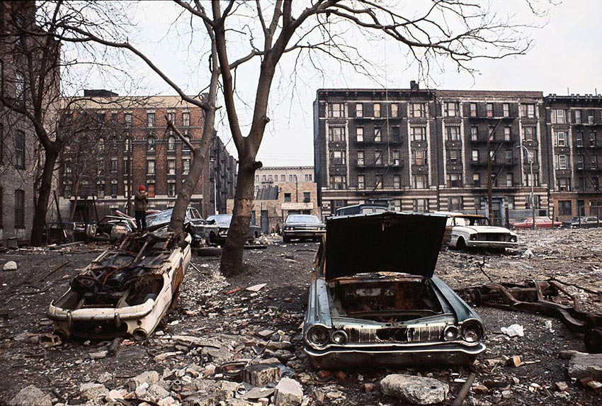 Look at This Photo of The Bronx in 1970
