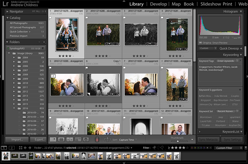 60 Second How-to: Custom Sequence Images in Adobe Photoshop Lightroom