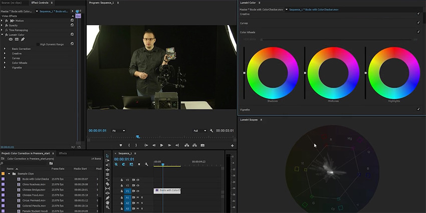 How to Read RGB and YUV Scopes for Precise Color Correction in Adobe Premiere