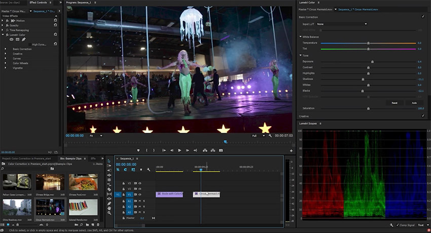 Adjusting Exposure in Adobe Premiere