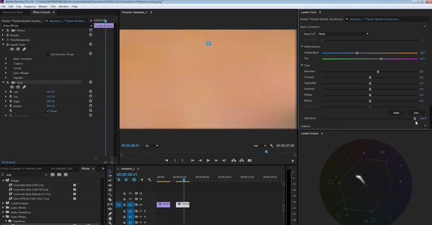 How to Check for Correct Skin Tones in Video With Adobe Premiere Pro