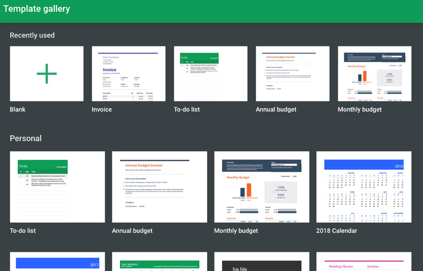 Free Google Sheets Business Templates To Use In - Google design templates