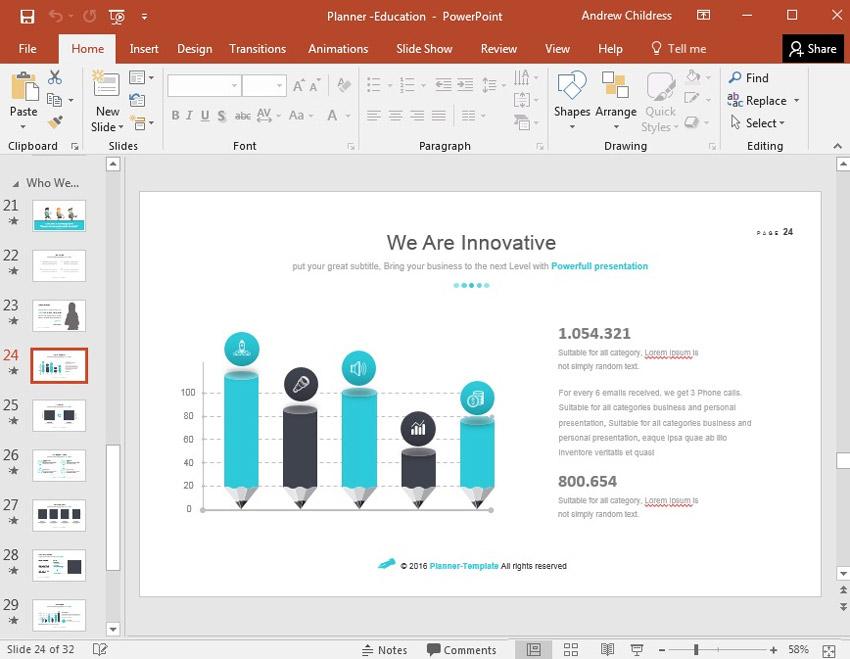 Education PowerPoint Theme