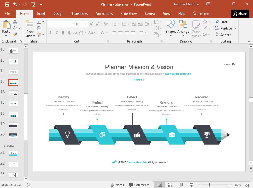 Planner Mission and Vision