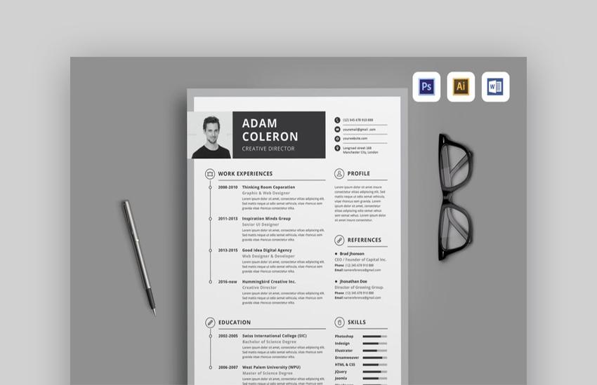 20 Plantillas de Curriculum Vitae Simple (Fáciles de Personalizar y ...