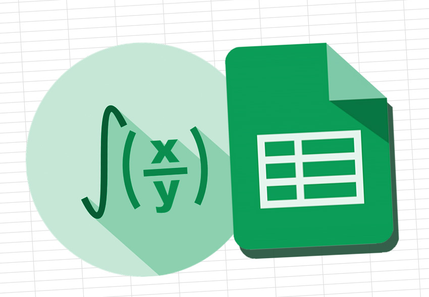 Functions in Google Sheets art sized graphic