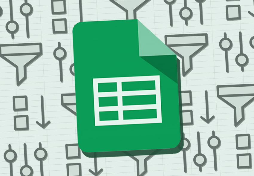 Google Sheets sort and filter illustration