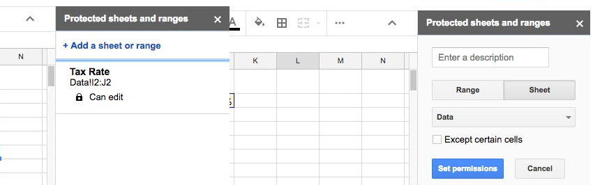 how to lock excel sheet but allow sorting