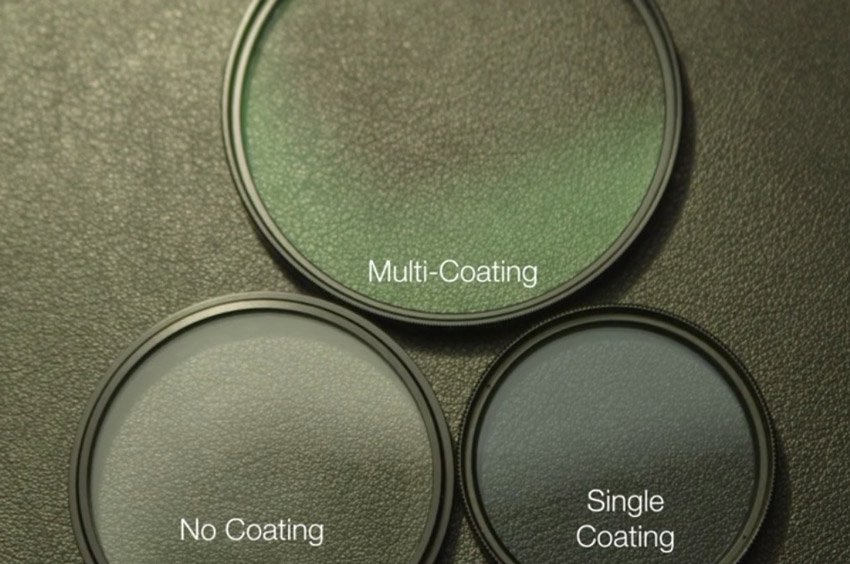 Lens coating comparisons