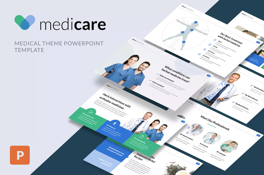 Medicare PowerPoint Presentation Theme