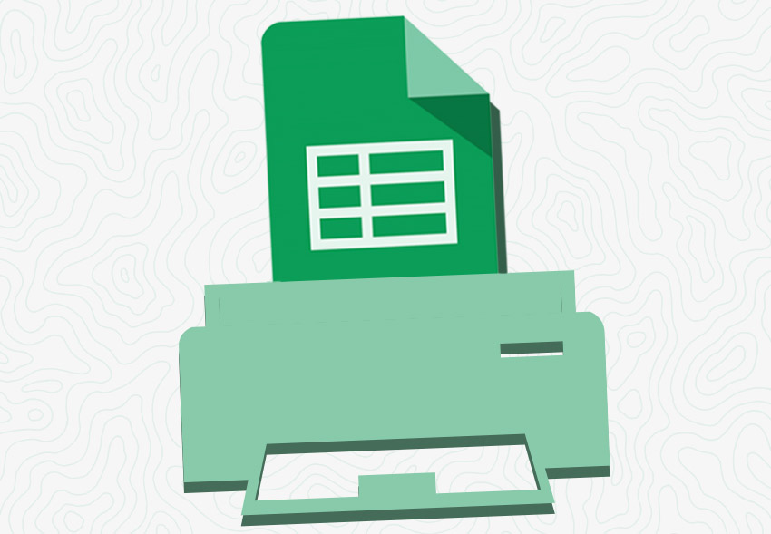 How to Print in Google Sheets