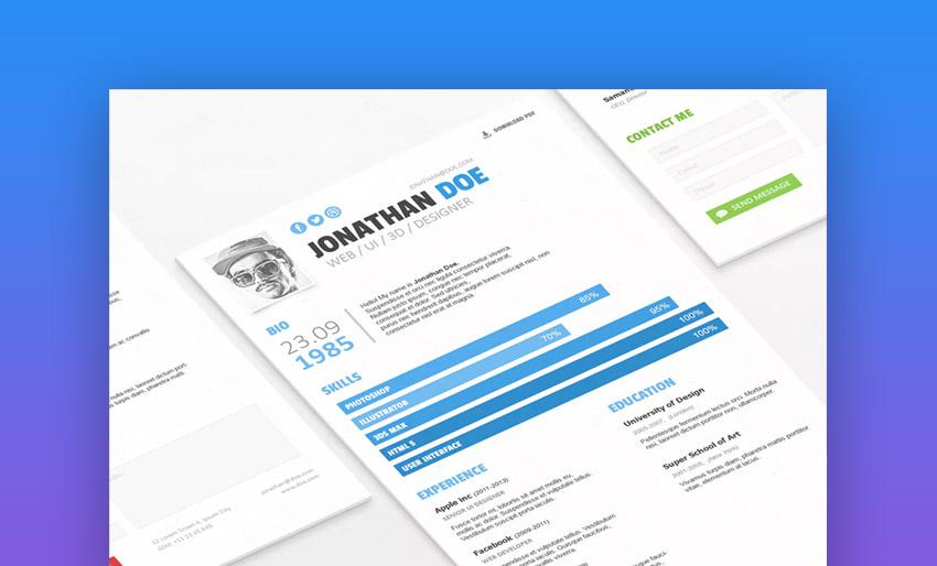 Simple ResumeCV Template