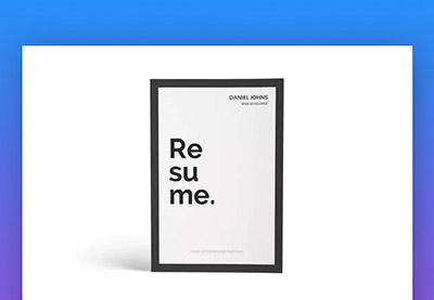 20 simple resume