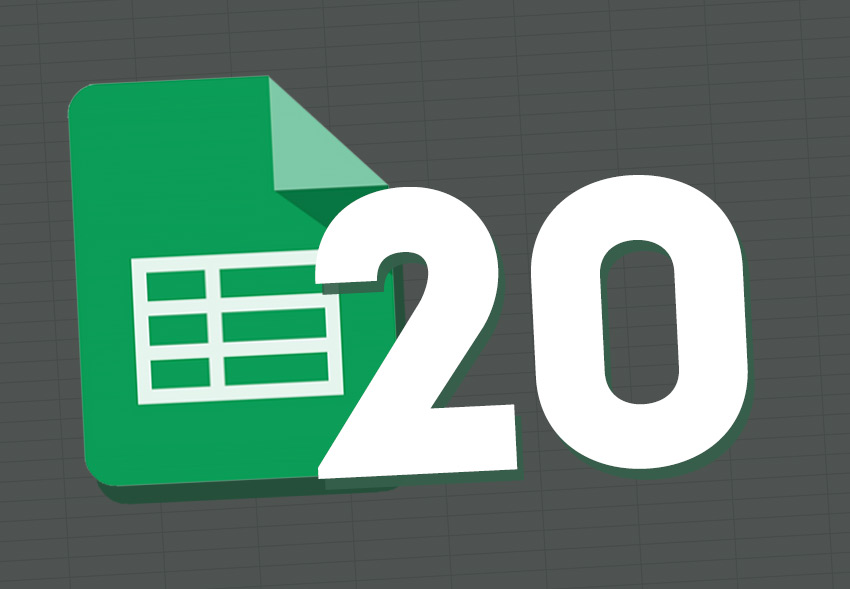 Google Sheets 20 tips and tricks